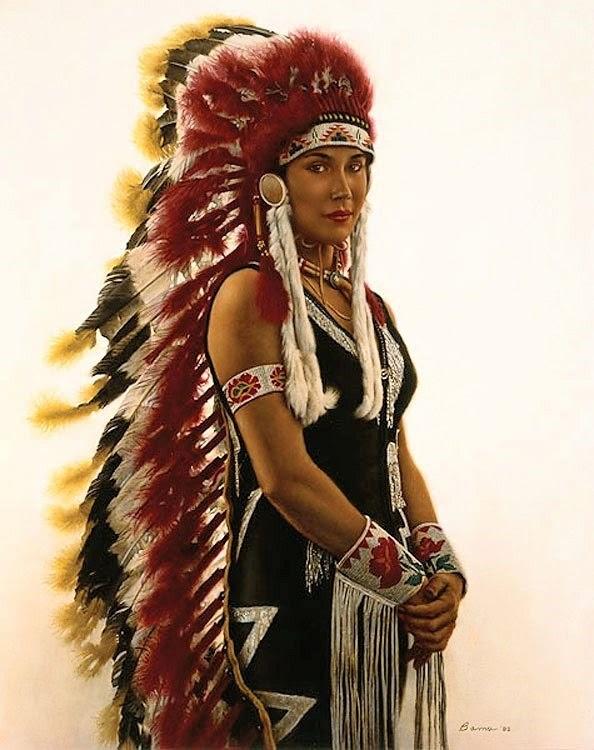 James Bama paining, Indian Rodeo Performer-8x6