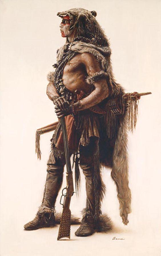 Northerb Cheyenne wolf scout