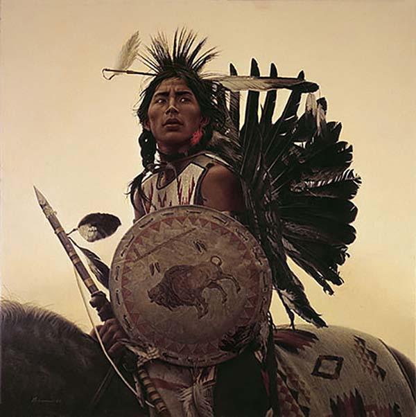 Young-Plains-Indian-James-Bama