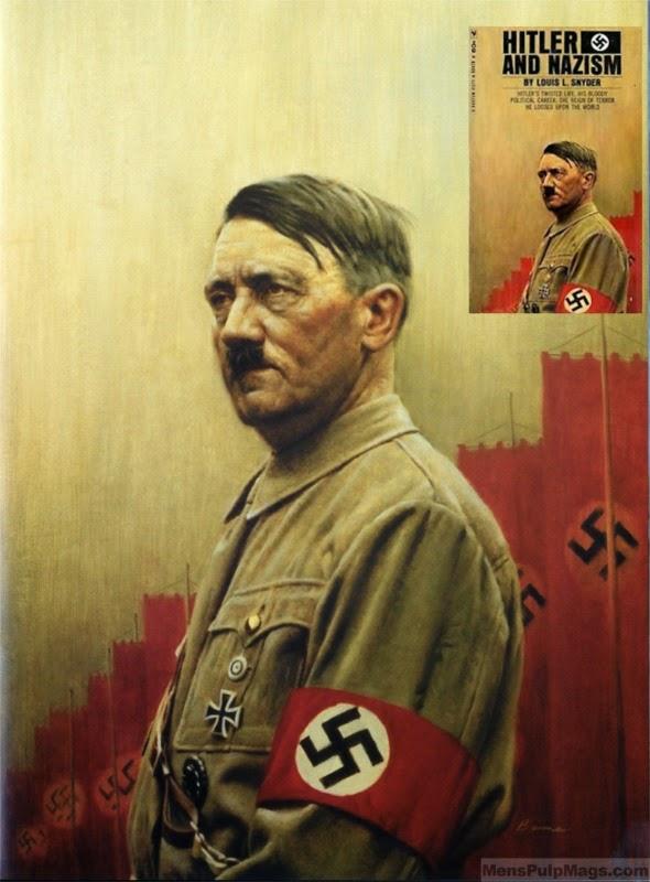 James Bama art,  HITLER & NAZISM, Louis Snyder (1967)-8x6[1]