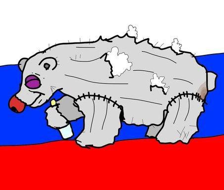 ватный медведь