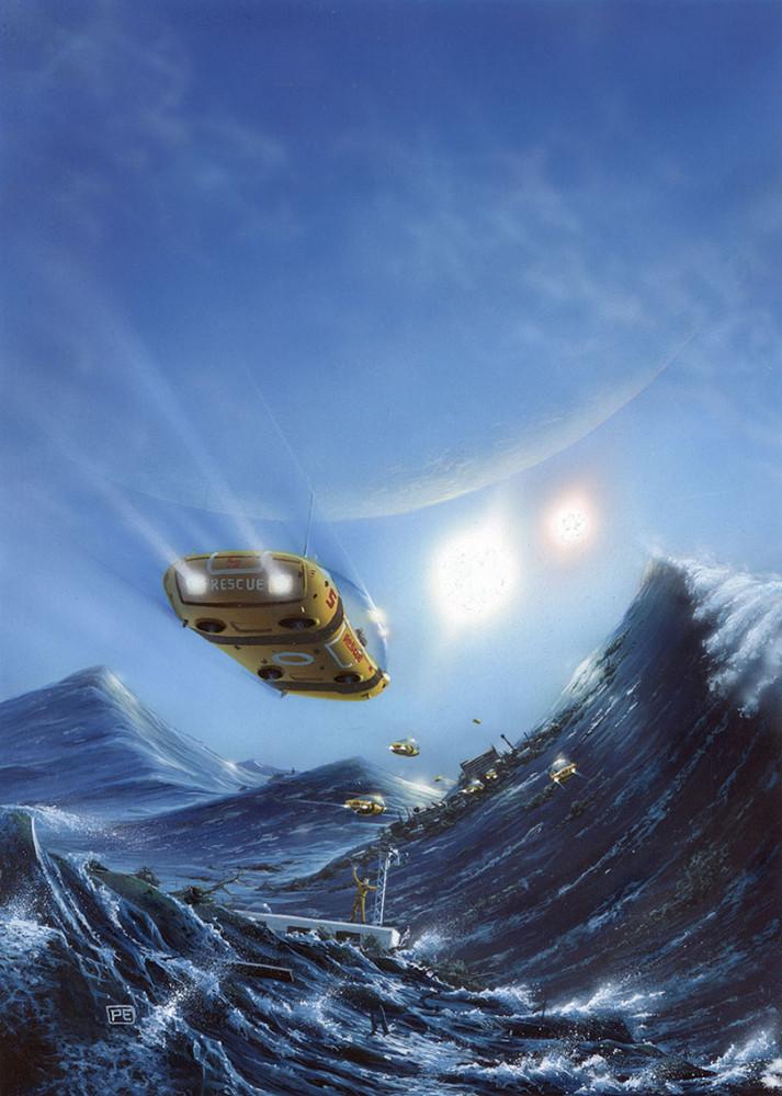 retro-science-fiction-разное-Peter-Elson-artist-6473940