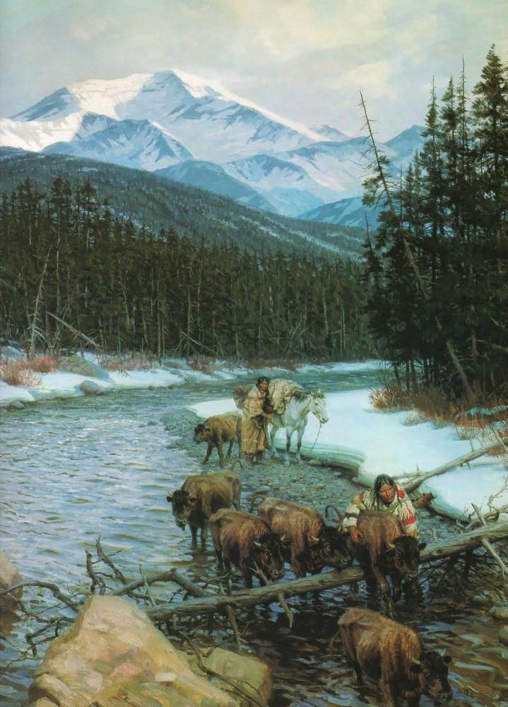 спасение бизонов