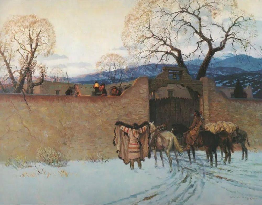Апачи торговля
