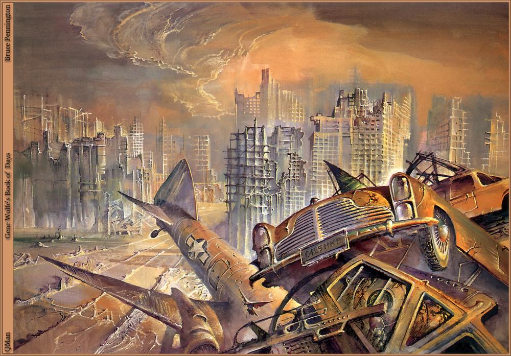 retro-science-fiction-разное-Bruce-Pennington-artist-6613400
