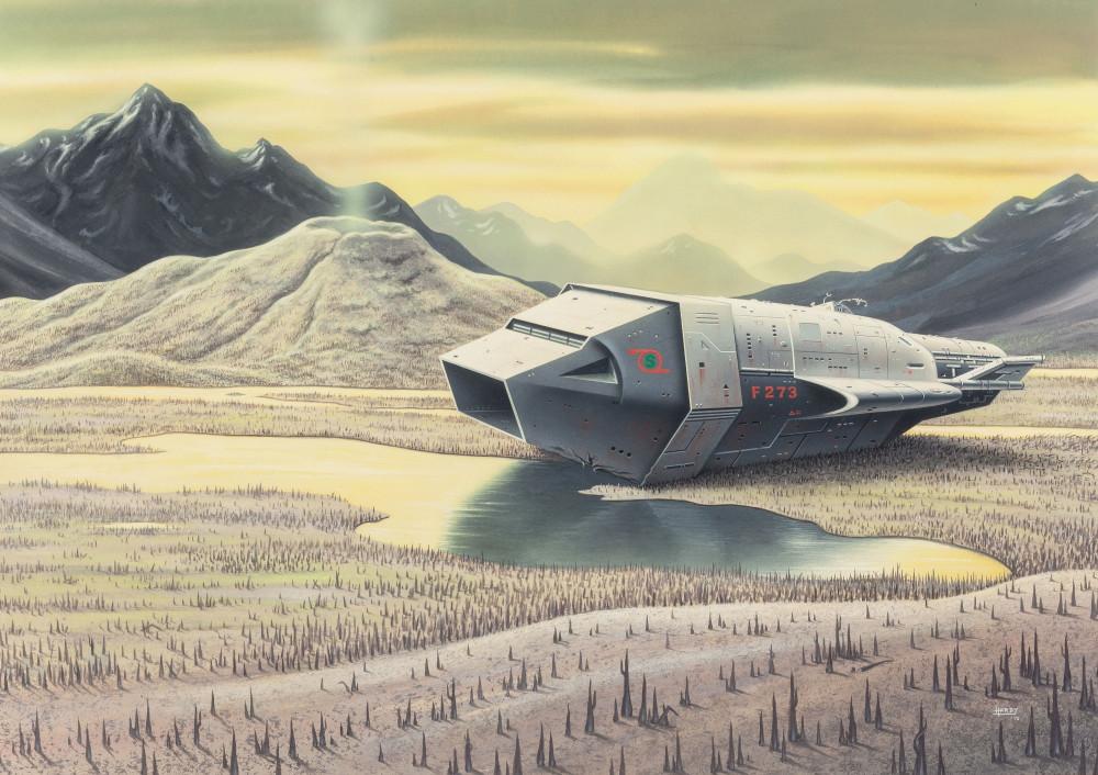 retro-science-fiction-разное-David-A-Hardy-artist-6570710