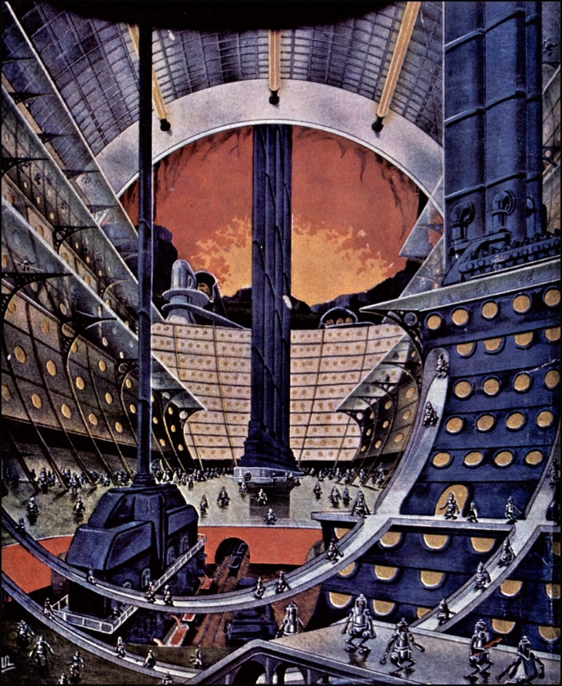 retro-science-fiction-разное-Frank-R-Paul-длиннопост-6634277