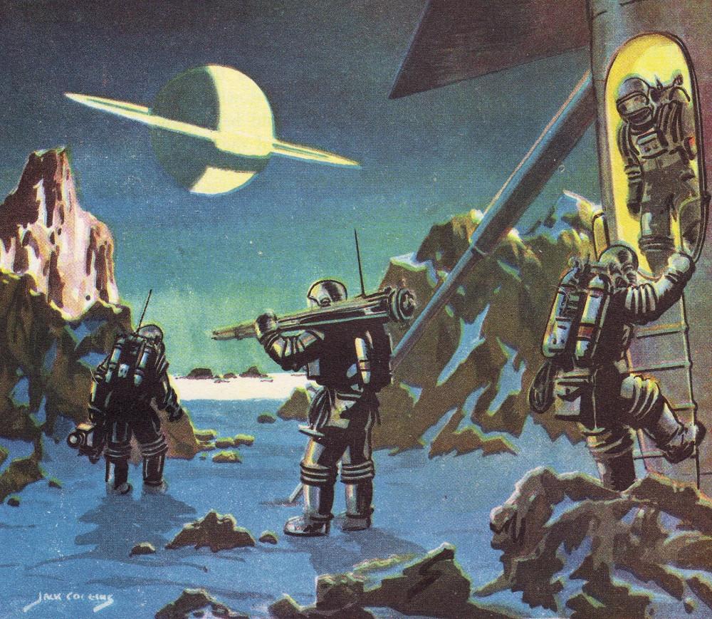 retro-science-fiction-разное-Ian-Flemming-Jack-Coggins-6703741