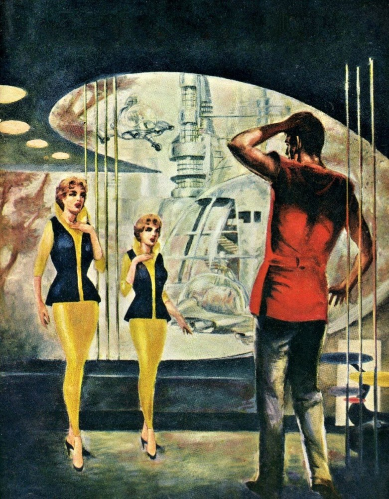 retro-science-fiction-разное-Wally-Wood-арт-барышня-6699307
