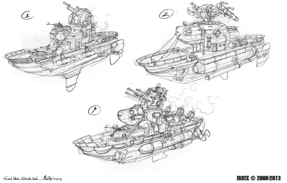 michal-kus-soviet-marine-skirmish-boat