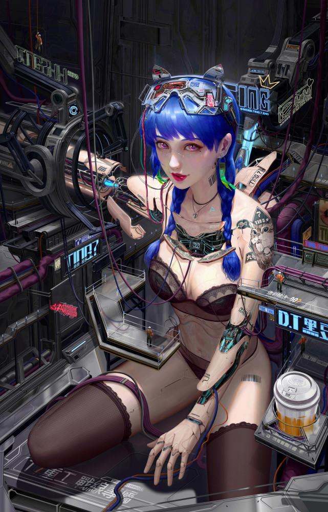 art-девушка-art-Sci-Fi--6787809
