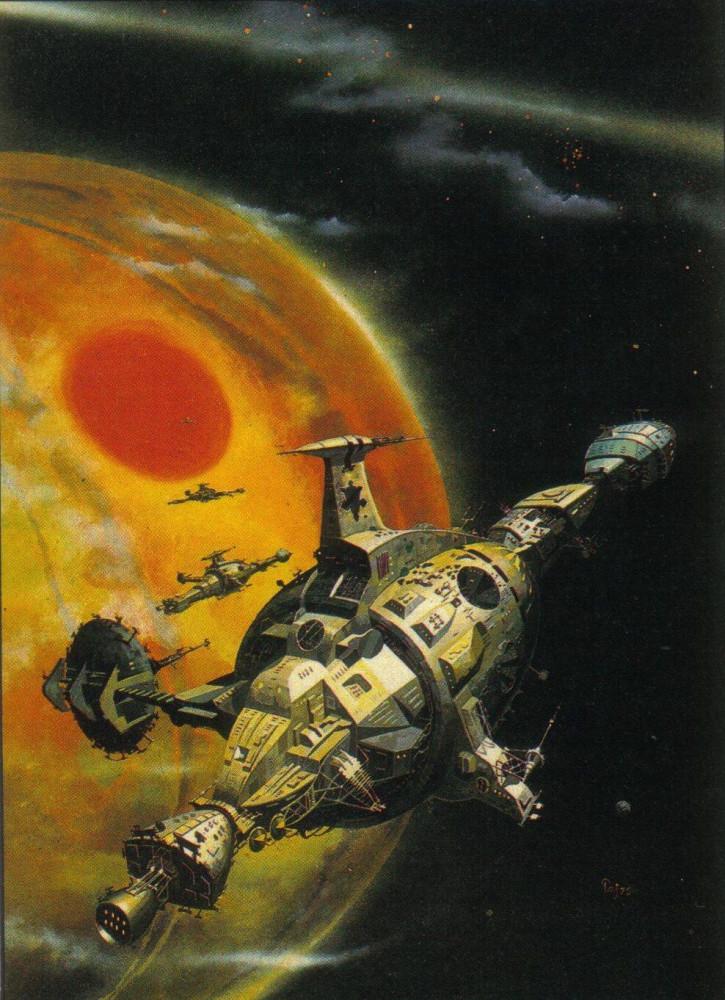 retro-science-fiction-разное-Peter-Andrew-Jones-artist-6797793