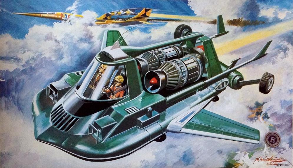 retro-science-fiction-разное-Shigeru-Komatsuzaki-длиннопост-6825540