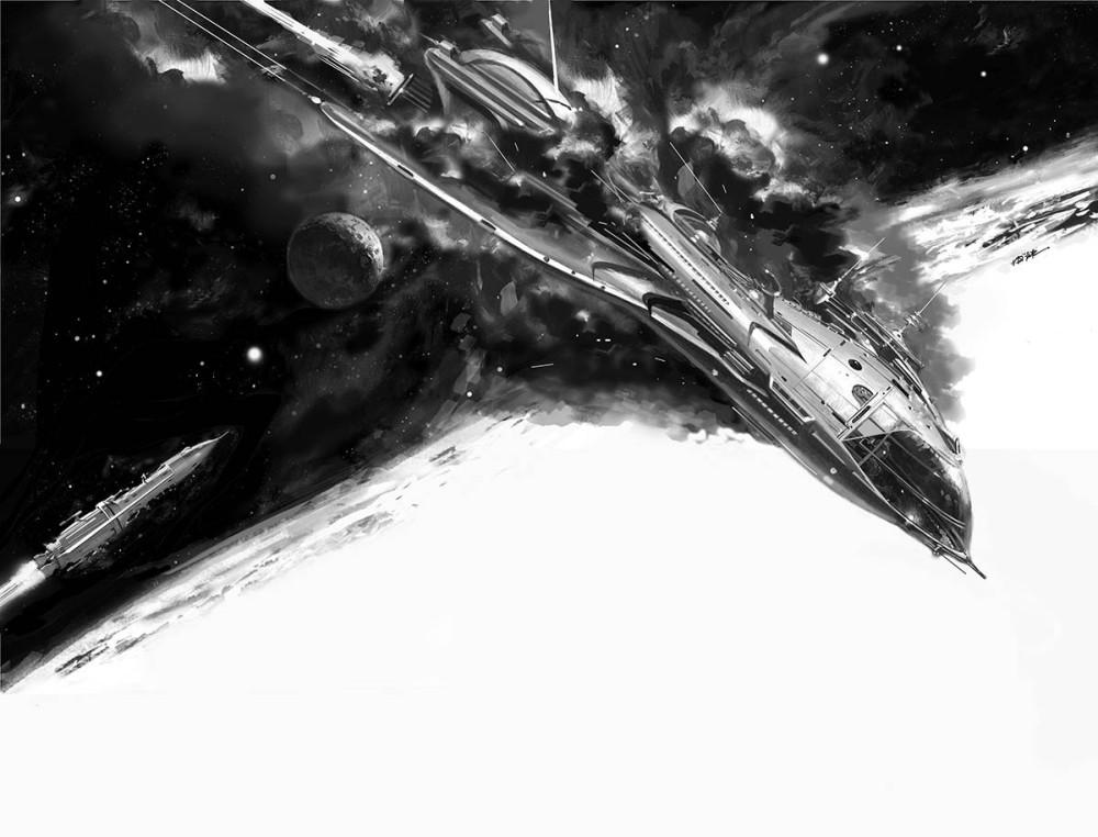 retro-science-fiction-разное-Vincent-Di-Fate-artist-6793570
