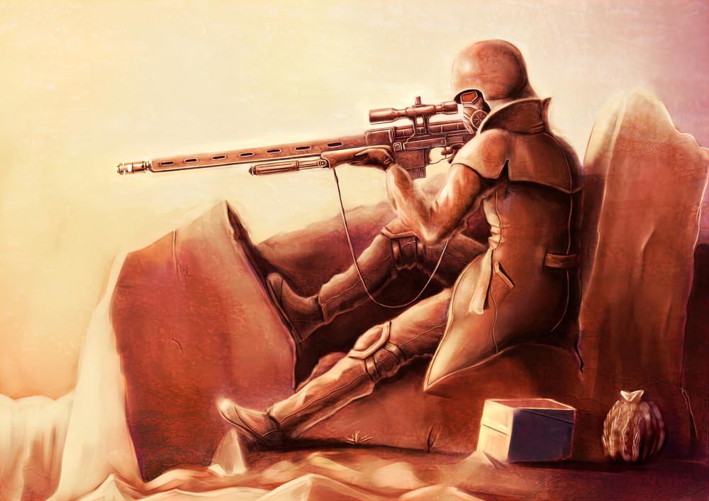 фэндомы-Fallout-Fallout-New-Vegas-Fallout-art-6846660
