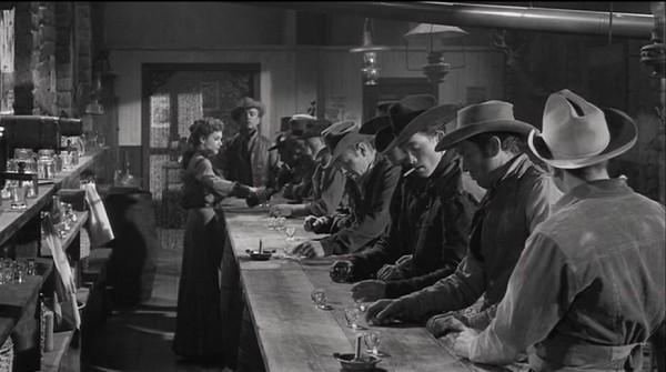 3 10 to Yuma 1957 25 Wade's Gang in saloon
