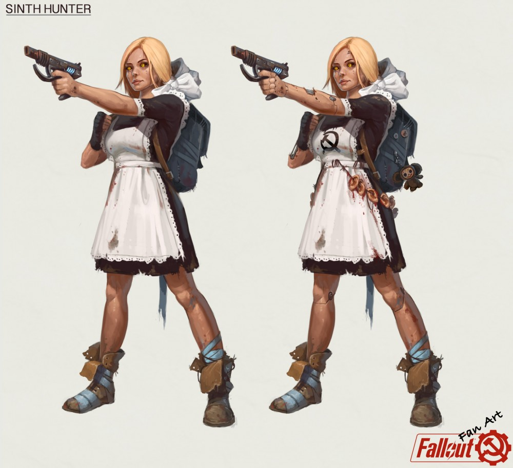 Fallout-фэндомы-Fallout-art-Tony-Sart-5155437