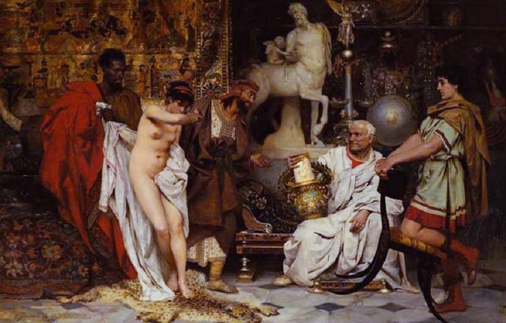 Женщина или ваза (Сложный выбор). Генрих Ипполитович Семирадский. 1878