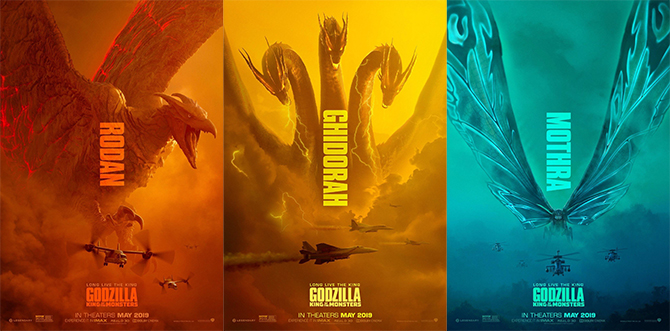 rodan-mothra-ghidorah-at-monstrous-posters-for-godzilla-king-of-the-monsters