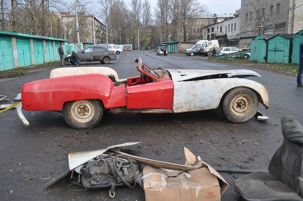 Автомобиль «Ленинград» - всё что осталось