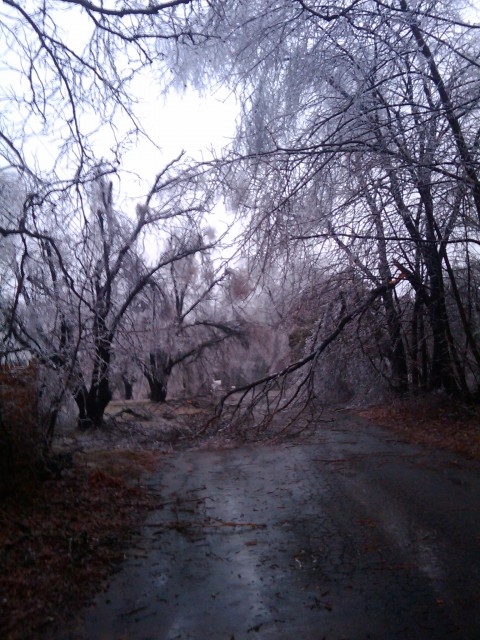 New Hampshire Ice Storm - Can't Get There From Here