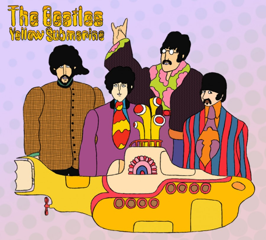 the beatles adaptations in the movies yellow submarine and across the universe