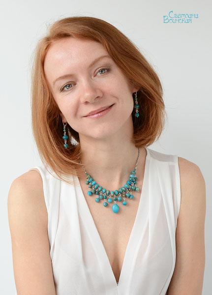 варисцит браслет ожерелье из натуральный яшма варисцит бирюза длинные бусы комплект авторские украшения камни