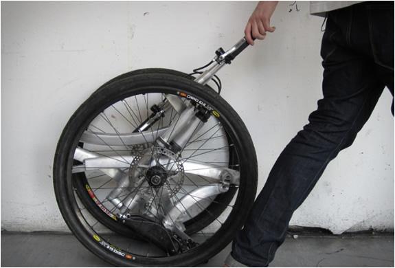 Сделать складной велосипед