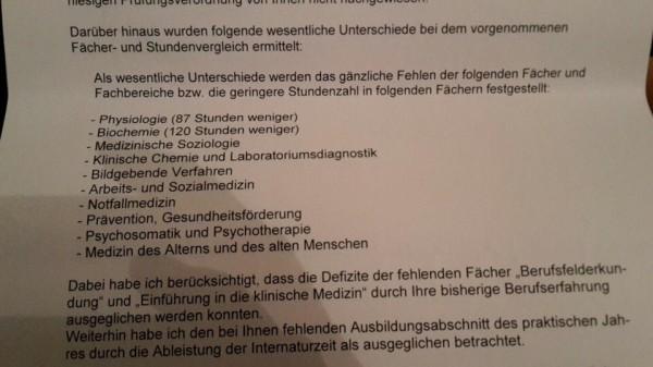 Трудовая иммиграция для врачей в Германию Дефициты необходимо будет компенсировать посредствам сдачи экзамена называемого kenntnisprufung в случае успешной сдачи которого Вы получаете