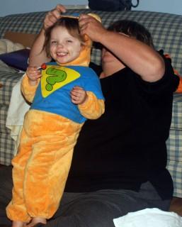 Dressing Pooh