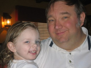 Katie and Daddy