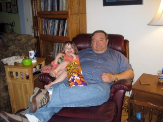 Daddy and Katie