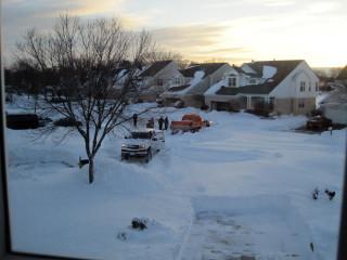 Stuck Snowplow