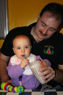 Eleanor's First Milkshake