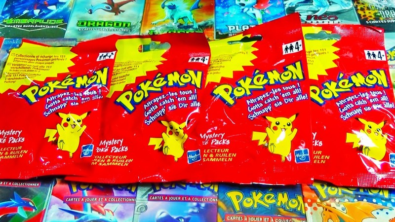 the mystery poke packs I am looking for.
