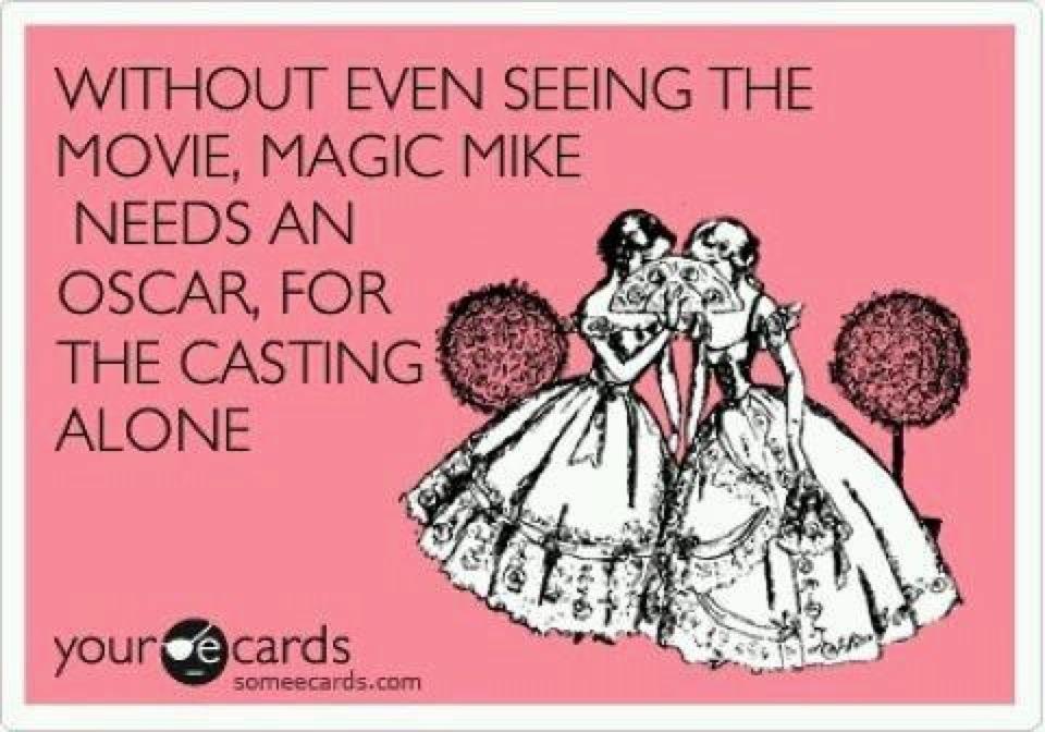 Magic Mike win Oscar