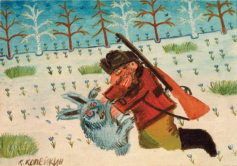 Охотники и зайцы картинки для детей