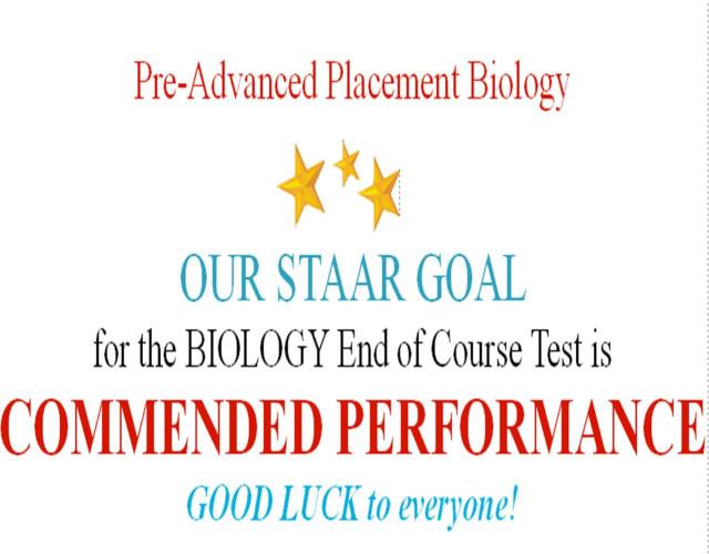 STAAR TEST! REVIEW HERE! Read below - BioTexan