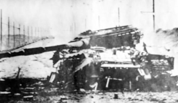 Т-64 уничтоженный 1