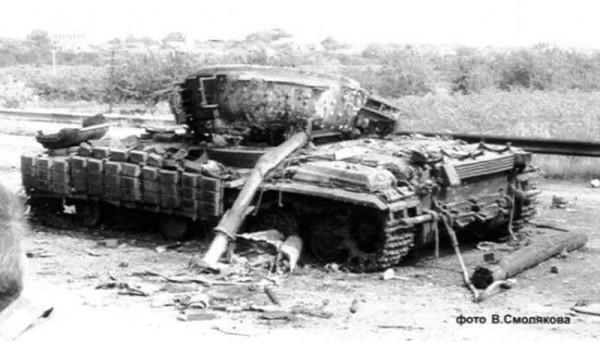 Т-64 уничтоженный