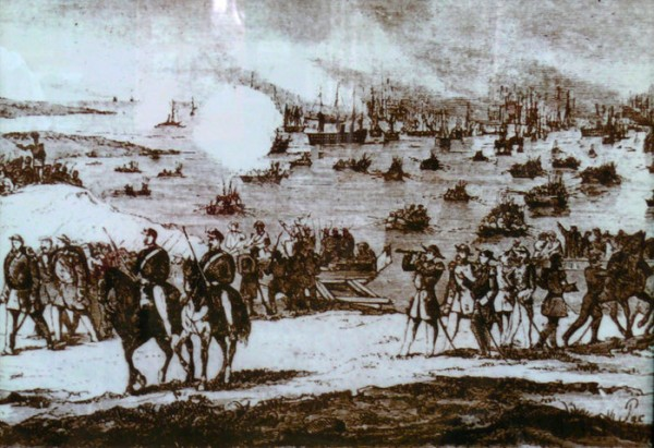 Высадка в Евпатории 1854