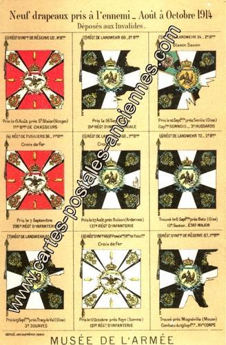 Militaire_Drapeaux-Ennemis_10-1914-co_GERO_