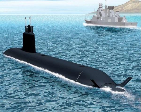 French Barracuda-class submarine