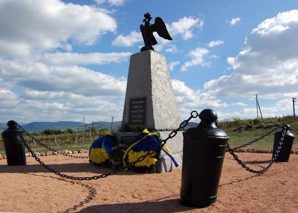Киев гус памятник