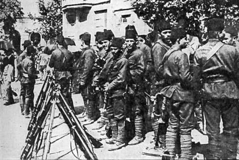 Мобилизация в Константинополе