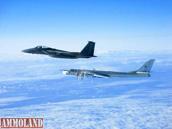 Air-Force-F-15-and-Russian-Tu-95-Bear-long-rang-bomber