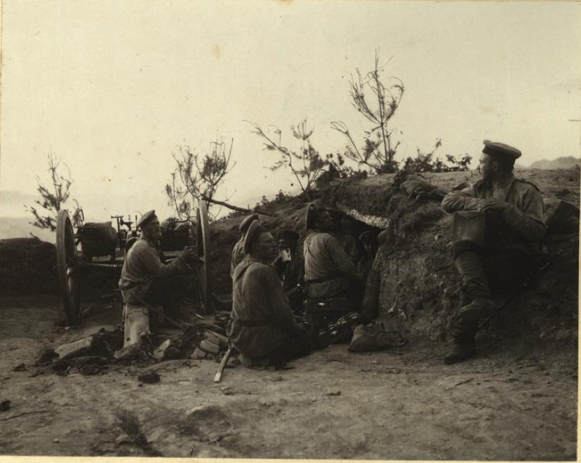_Артиллерия на Далинском перевале