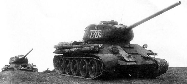 Танк Т-34-85 2 гв. ТК
