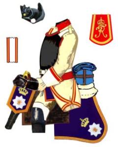 Prussian_Gens_d'Armes_Uniform_Plate