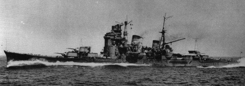 Тяжелый крейсер Myoko